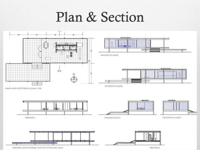 Elevation Plan Section : House plan elevation section design plans